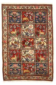 Bakhtiar Collectible Tapis 115X170 D'orient Fait Main Marron Foncé/Blanc/Crème (Laine, Perse/Iran)