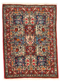 Bakhtiar Collectible Tapis 105X140 D'orient Fait Main Marron Foncé/Beige (Laine, Perse/Iran)
