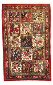 Bakhtiar Collectible Tapis 108X171 D'orient Fait Main Rouge Foncé/Marron Foncé (Laine, Perse/Iran)