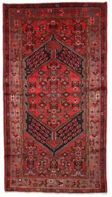Zanjan Tapis 130X244 D'orient Fait Main Rouge Foncé/Marron Foncé (Laine, Perse/Iran)