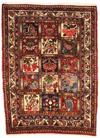 Bakhtiar Collectible Tapis 107X143 D'orient Fait Main Marron Foncé/Rouge Foncé (Laine, Perse/Iran)