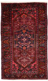 Zanjan Tapis 132X225 D'orient Fait Main Rouge Foncé (Laine, Perse/Iran)