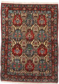 Bakhtiar Collectible Tapis 108X148 D'orient Fait Main Marron Foncé/Gris Foncé (Laine, Perse/Iran)