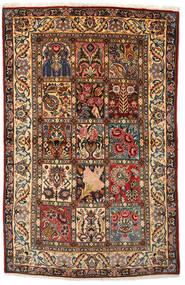 Bakhtiar Collectible Tapis 108X170 D'orient Fait Main Marron Foncé/Rouge Foncé (Laine, Perse/Iran)