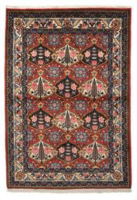 Bakhtiar Collectible Tapis 105X150 D'orient Fait Main Rouge Foncé/Marron Foncé (Laine, Perse/Iran)