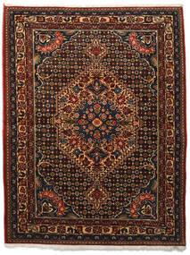 Bakhtiar Collectible Tapis 113X144 D'orient Fait Main Marron Foncé/Rouge Foncé (Laine, Perse/Iran)