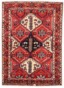 Bakhtiar Tapis 162X227 D'orient Fait Main Violet Foncé/Rouge Foncé (Laine, Perse/Iran)