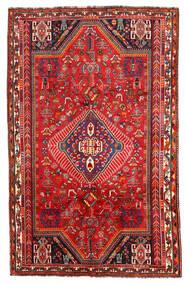 Shiraz Tapis 171X272 D'orient Fait Main Rouge Foncé/Rouille/Rouge (Laine, Perse/Iran)