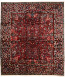 Sarough Tapis 420X485 D'orient Fait Main Rouge Foncé/Marron Foncé Grand (Laine, Perse/Iran)