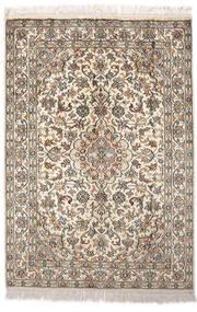 Cachemire Pure Soie Tapis 64X93 D'orient Fait Main Gris Clair/Beige (Soie, Inde)