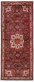 Hosseinabad Tapis 72X185 D'orient Fait Main Tapis Couloir Rouge Foncé/Marron Foncé (Laine, Perse/Iran)