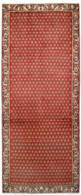 Sarough Mir Tapis 79X197 D'orient Fait Main Tapis Couloir Rouille/Rouge/Marron Foncé (Laine, Perse/Iran)