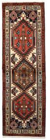 Ardabil Tapis 62X192 D'orient Fait Main Tapis Couloir Marron Foncé/Rouge Foncé (Laine, Perse/Iran)