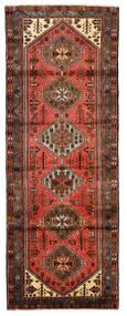 Hamadan Tapis 102X275 D'orient Fait Main Tapis Couloir Rouge Foncé/Rouge (Laine, Perse/Iran)