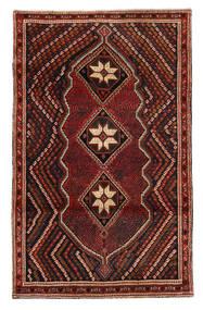 Afshar/Sirjan Tapis 118X188 D'orient Fait Main Rouge Foncé/Marron Foncé (Laine, Perse/Iran)