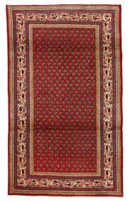 Sarough Tapis 111X197 D'orient Fait Main Rouge Foncé/Marron Foncé (Laine, Perse/Iran)
