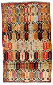 Moroccan Berber - Afghanistan Tapis 112X184 Moderne Fait Main Marron Foncé/Rouge (Laine, Afghanistan)