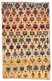 Moroccan Berber - Afghanistan Tapis 114X184 Moderne Fait Main Jaune/Beige (Laine, Afghanistan)
