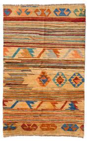 Moroccan Berber - Afghanistan Tapis 116X181 Moderne Fait Main Marron Clair/Jaune (Laine, Afghanistan)