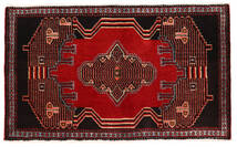 Senneh Tapis 53X89 D'orient Fait Main Marron Foncé/Rouge Foncé (Laine, Perse/Iran)
