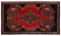 Senneh Tapis 50X88 D'orient Fait Main Marron Foncé/Rouge Foncé/Rouille/Rouge (Laine, Perse/Iran)