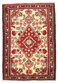 Lillian Tapis 56X83 D'orient Fait Main Marron Foncé/Rouge Foncé (Laine, Perse/Iran)