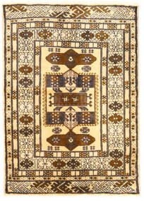 Turkaman Tapis 60X85 D'orient Fait Main Marron Clair/Beige (Laine, Perse/Iran)