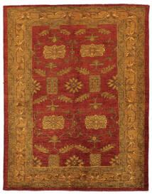 Oriental Overdyed Tapis 144X183 Moderne Fait Main Marron Foncé/Rouge Foncé (Laine, Perse/Iran)