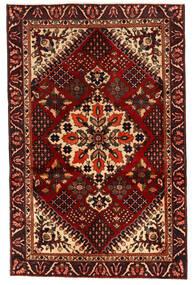 Bakhtiar Tapis 125X195 D'orient Fait Main Marron Foncé/Rouge Foncé (Laine, Perse/Iran)