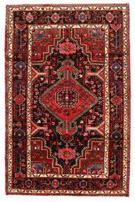 Hamadan Tapis 123X190 D'orient Fait Main Marron Foncé/Rouge Foncé (Laine, Perse/Iran)