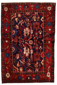 Lillian Tapis 106X158 D'orient Fait Main Violet Foncé/Rouge Foncé (Laine, Perse/Iran)