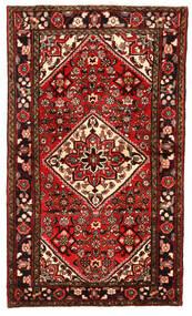 Hosseinabad Tapis 100X170 D'orient Fait Main Rouge Foncé/Rouille/Rouge (Laine, Perse/Iran)