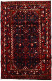 Hamadan Tapis 108X169 D'orient Fait Main Rouge Foncé/Rouge (Laine, Perse/Iran)