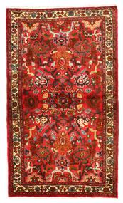 Mehraban Tapis 97X169 D'orient Fait Main Rouge Foncé/Marron Foncé (Laine, Perse/Iran)