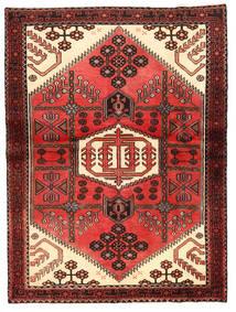 Rudbar Tapis 114X152 D'orient Fait Main Rouge Foncé/Rouge (Laine, Perse/Iran)