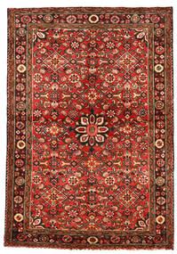 Hosseinabad Tapis 113X163 D'orient Fait Main Rouge Foncé/Rouille/Rouge (Laine, Perse/Iran)