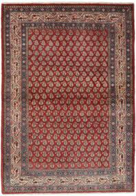 Sarough Mir Tapis 106X158 D'orient Fait Main Marron Foncé/Noir (Laine, Perse/Iran)