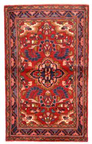 Lillian Tapis 102X168 D'orient Fait Main Rouille/Rouge/Violet Foncé (Laine, Perse/Iran)