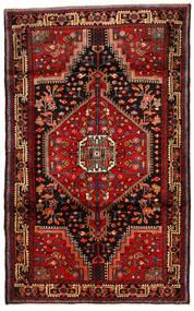 Hamadan Tapis 112X182 D'orient Fait Main Marron Foncé/Rouge Foncé (Laine, Perse/Iran)
