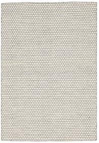 Kilim Honey Comb - Cream/Noir Tapis 160X230 Moderne Tissé À La Main Beige/Gris Clair (Laine, Inde)
