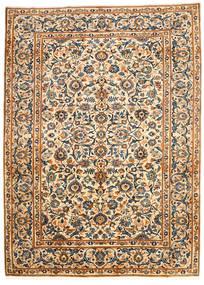 Najafabad Tapis 203X278 D'orient Fait Main Beige/Noir (Laine, Perse/Iran)