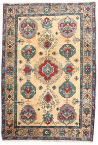 Ardabil Tapis 114X168 D'orient Fait Main Beige/Marron Clair (Laine, Perse/Iran)