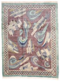 Himalaya Tapis 258X345 Moderne Fait Main Gris Clair/Violet Clair Grand (Laine, Inde)