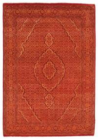 Gabbeh Loribaft Tapis 128X182 Moderne Fait Main Orange/Rouge/Rouille/Rouge (Laine, Inde)