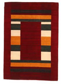Loribaf Loom Tapis 168X237 Moderne Fait Main Rouge Foncé/Rouge (Laine, Inde)