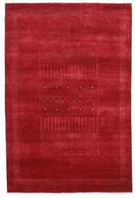 Gabbeh Loribaft Tapis 150X226 Moderne Fait Main Rouge (Laine, Inde)