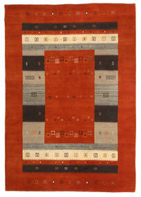 Loribaf Loom Tapis 163X234 Moderne Fait Main Rouille/Rouge/Marron Foncé (Laine, Inde)