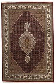 Tabriz Royal Tapis 198X304 D'orient Fait Main Rouge Foncé/Marron ( Inde)