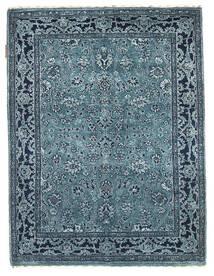Gabbeh Loribaft Tapis 92X122 Moderne Fait Main Bleu Foncé/Bleu Clair/Bleu (Laine, Inde)
