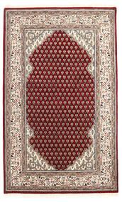Mir Indo Tapis 95X155 D'orient Fait Main Marron Foncé/Rouge Foncé (Laine, Inde)